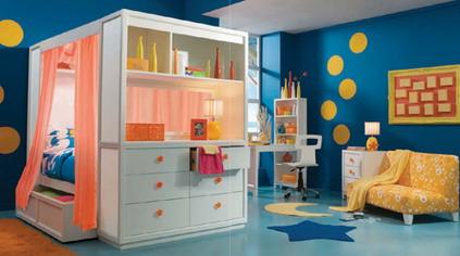 individuali erdvė vaiko kambaryje