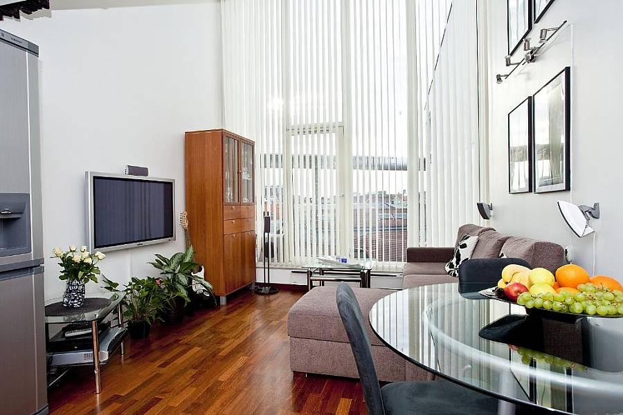 apsvietimas namuose, didelis langas