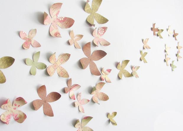 Popierines geles ant sienu