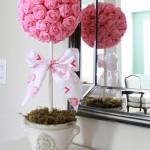Popierinės gėlės gali puošti namus visus metus