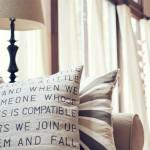 Ar pagalvė gali tapti namų interjero detale?