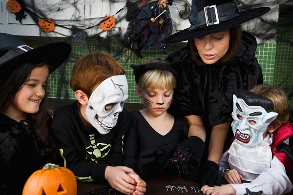 Helovynas: žaidimai ir konkursai