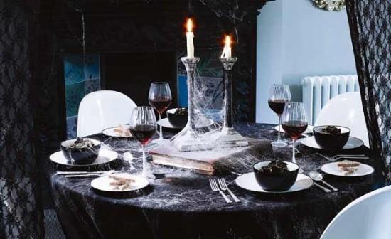 Helovynas: šventinio stalo dekoravimas