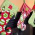 Papuoškime namus kalėdinėmis kojinėmis