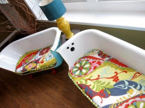senos vonios - naujos sofos