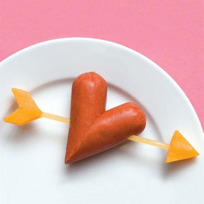 desrele sirdele Valentino dienai