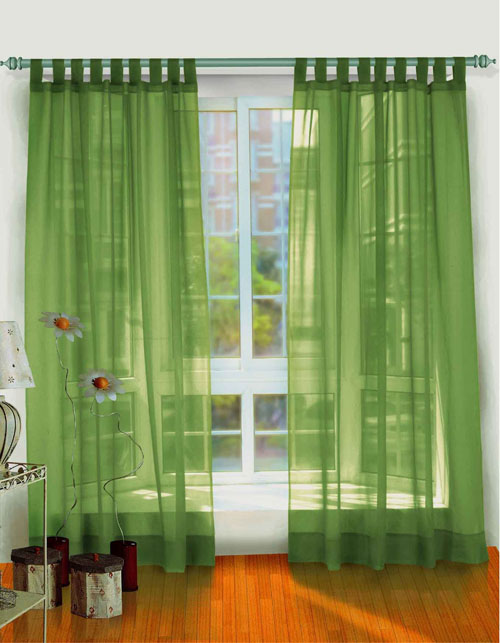 Green-curtains