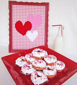spurgos Valentino dienai