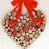 sirdele Valentino dienai is medzio