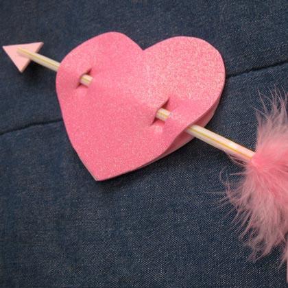 strele perverta popierine sirdute Valentino diena