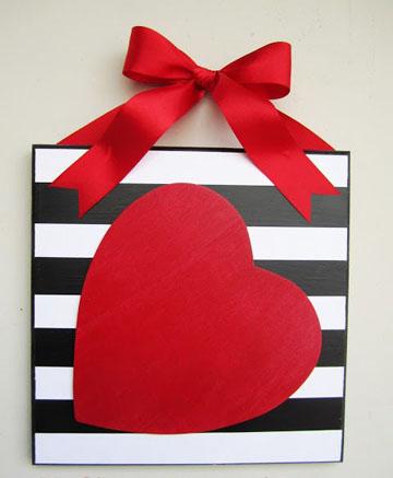 paveiksliukas su sirdele Valentinui