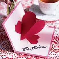 Valentino diena pasidaryk pats atvirukas