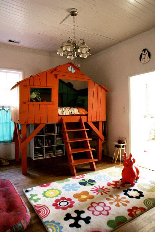kids-treehouse-bedroom-design