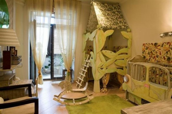 small-green-nature-kids-bedroom-designs-615x408