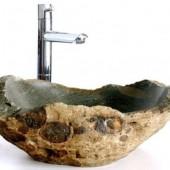 natūralaus akmens kriauklė voniai
