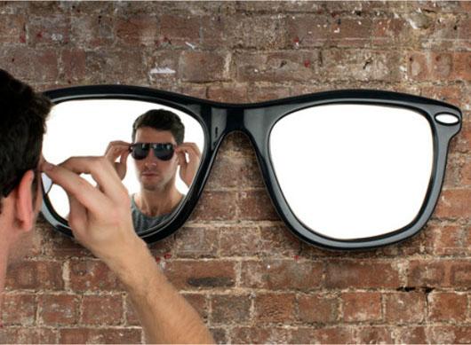 Veidrodis – matau save akiniuose nuo saulės