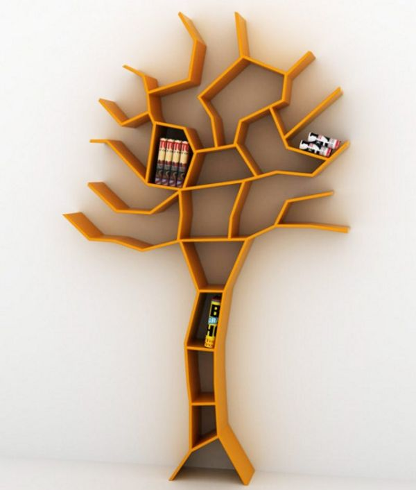 Tree-Bookcase-orange