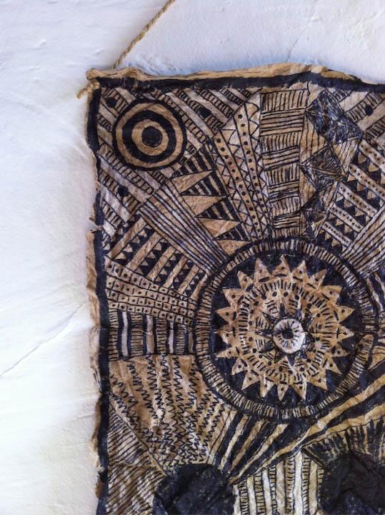 afrikietiskas dekoras detale