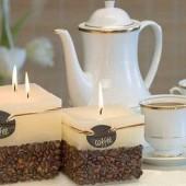 Žvakutės iš kavos pupelių