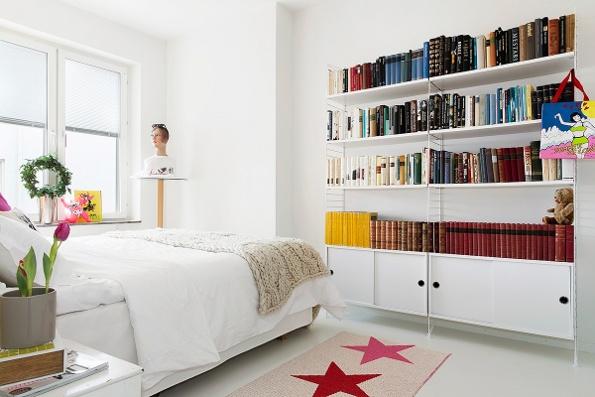 kilimas su zvaigzdemis miegamajame