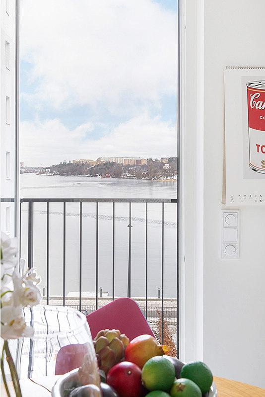 vaizdas pro langa balkonas ilanka