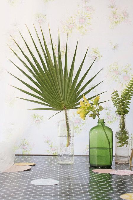 Žali augalai papuošia namus