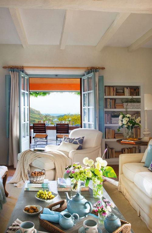 vaizdas slenis, svetaines durys, terasa