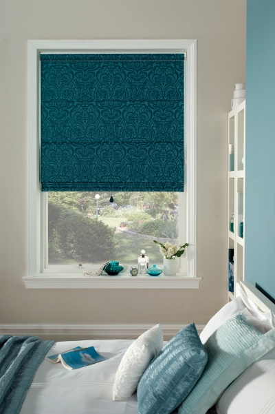 teal-roman-blinds