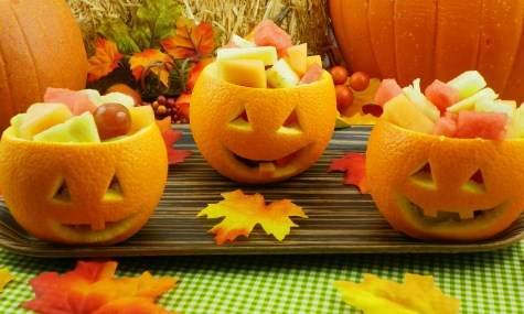 vaisiai apelsine halovynui