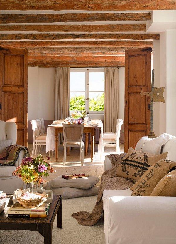 medines durys sijos valgomojo stalas